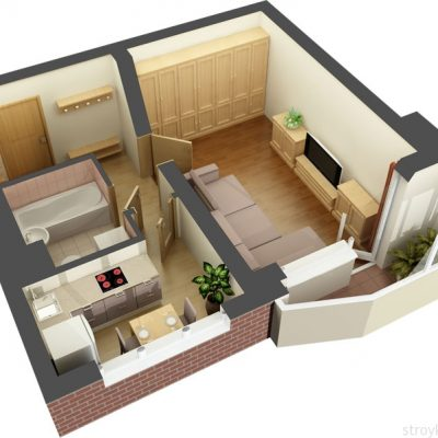 Развёрнутый план квартиры