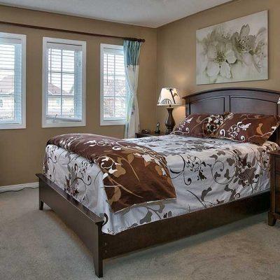 Красивая спальня на фото по стилю фен шуя