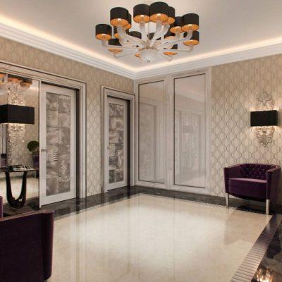 29Освещение гостиной