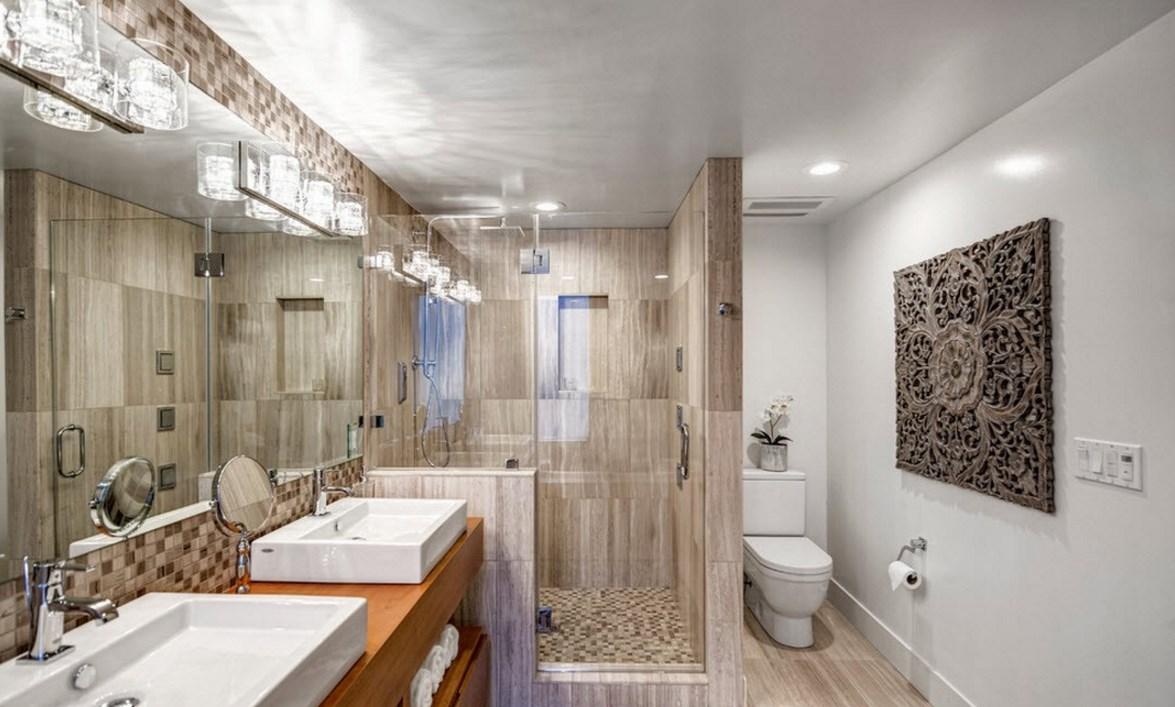 Мебель в ванной комнате на заказ в современном стиле