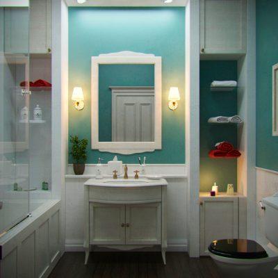 Ванная комната прованс