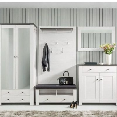 Модерн в интерьере гостиной белой