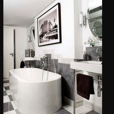 Детали комнаты ванной