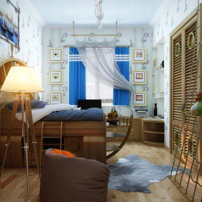 Спальня мальчика