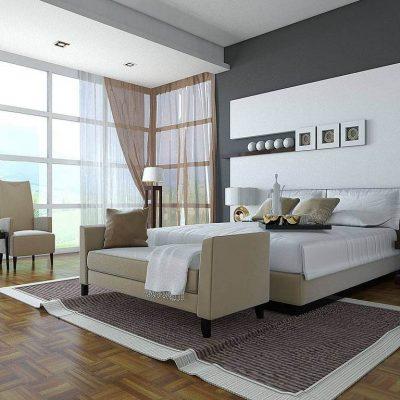 Оформление гостиной комнаты в хай тек стиле в интерьере на фото примере
