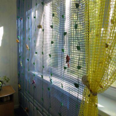шторы с сеткой