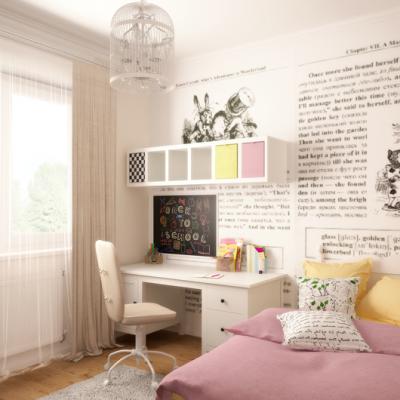 Уютная комната детской