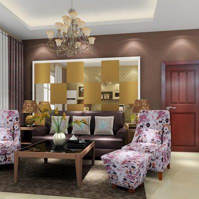 Пример оформления мебелью