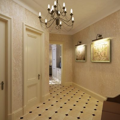 Готстиная коридор