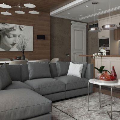 Акцент неоклассики на мебели