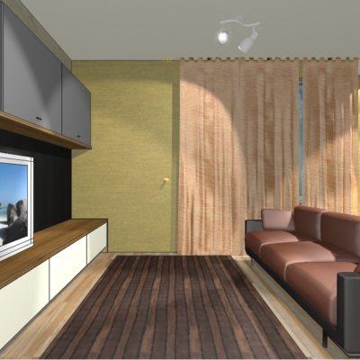 фотопроект дизайна гостиной