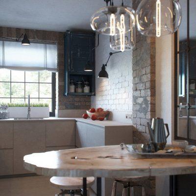 Обратите внимание на наличие окна на кухне