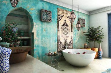 Круглая форма ванной