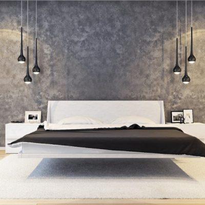 Люстры у кровати