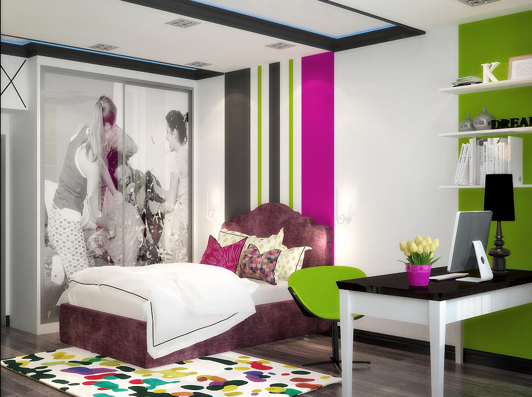Стильные сочетания цветов на фото спальни