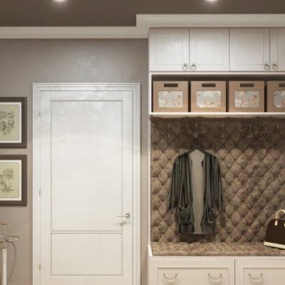 Вешалка со шкафами