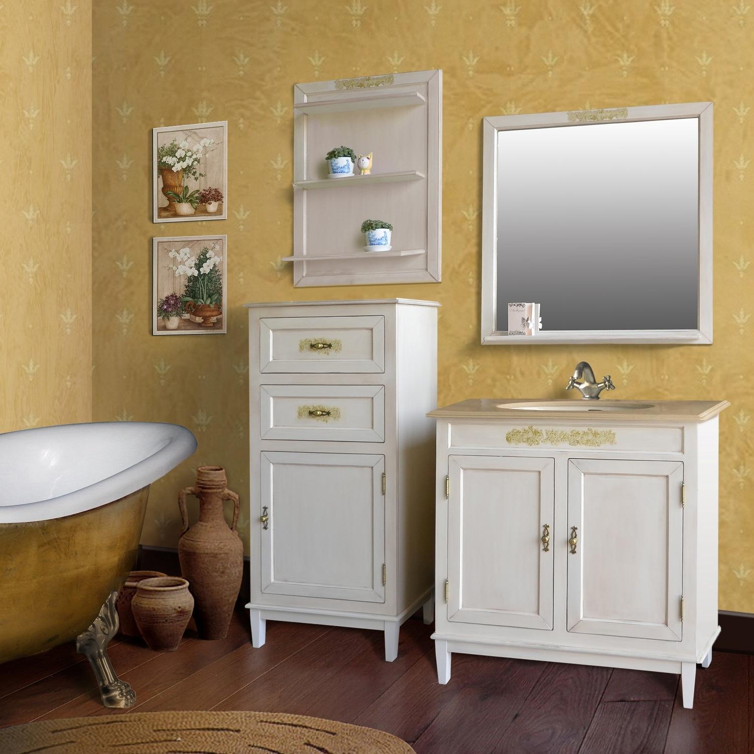 Набор шкафов с ванной