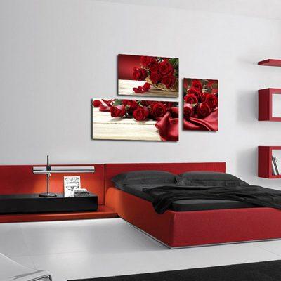 Страстный вариант спальни