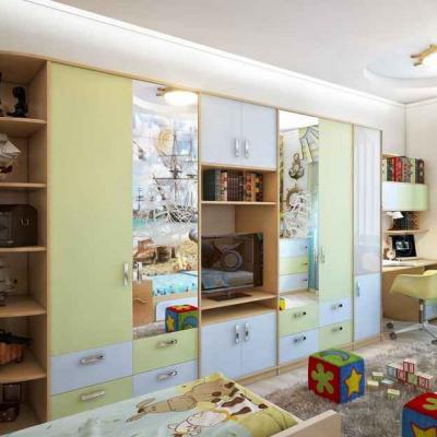Шкаф стенка в детской