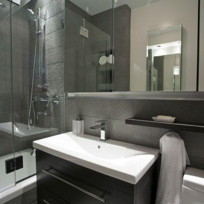 Модное оформление ванной