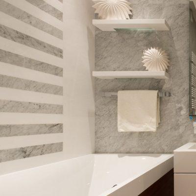 Полосатая ванная