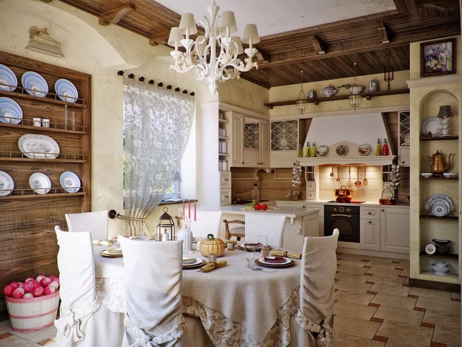 Вытяжка в русской кухне