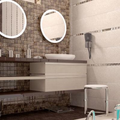 Пример зеркал в ванной