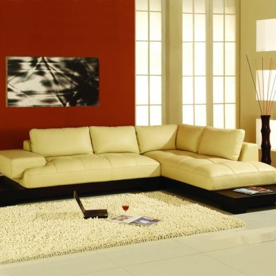 Угловой диван в японском стиле