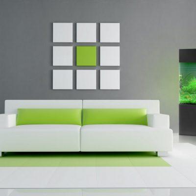 Минимализм зеленого цвета
