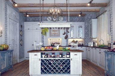 Пример обширного фото кухни