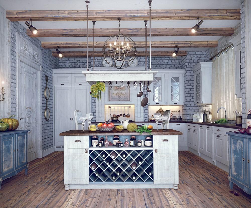 Кухня в стиле кантри: уют и очарование сельской жизни