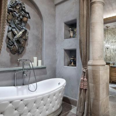Пример стильной ванной