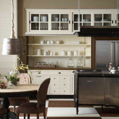 Кухня стиля кантри на фото