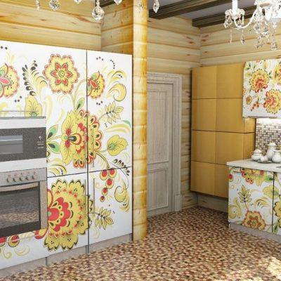Роспись кухни