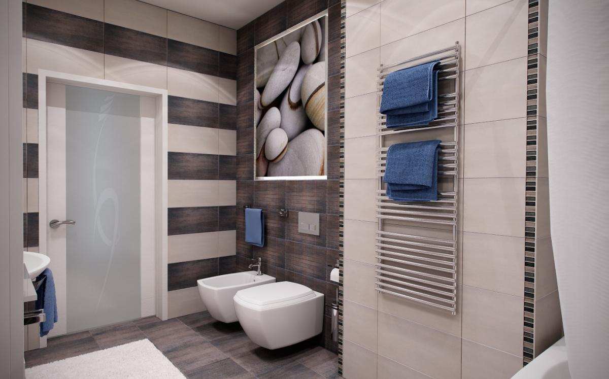 Картина в ванной