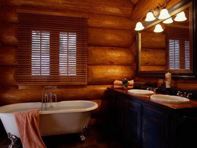 Брус ванной
