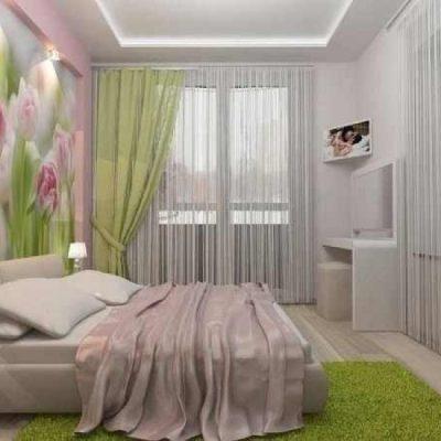 Зеленая спальня по фен шуй