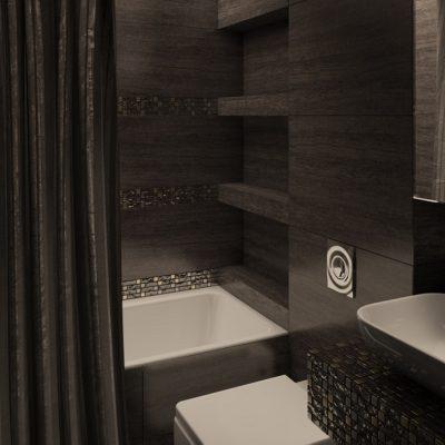 Черна ванная
