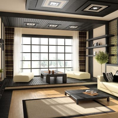 Япония гостиной