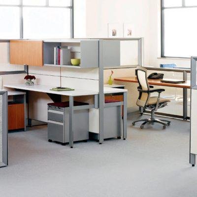 Офис кабинет со столом