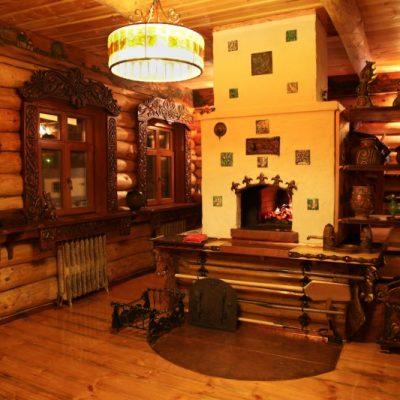 Русская кухня в интерьере