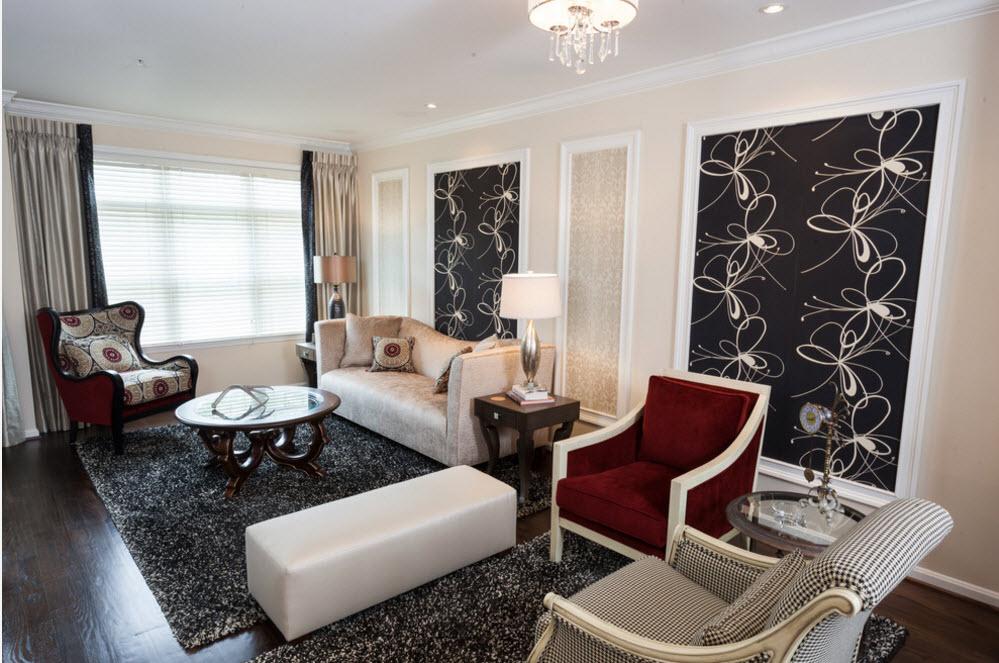 Зонирование помещения спомощью мебели