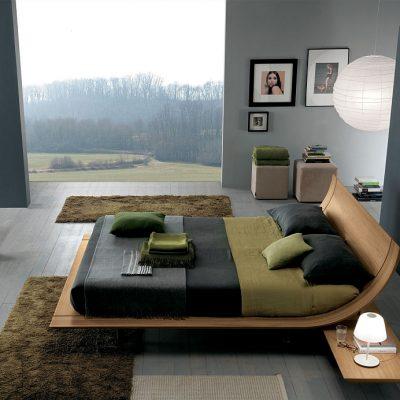 Стильный дизайн кровати