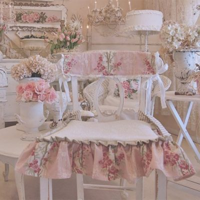 Розовый шебби шик