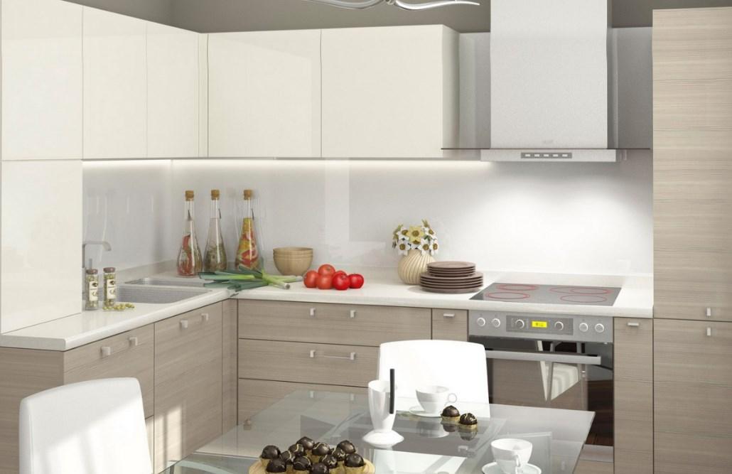 Светлая кухня