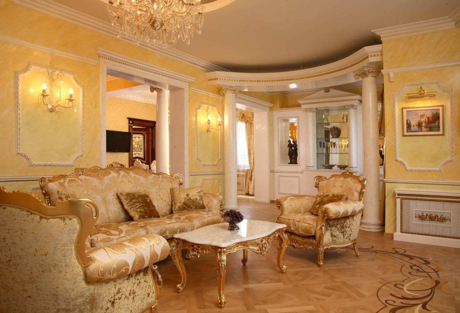 Ремонт квартир в стиле барокко фото