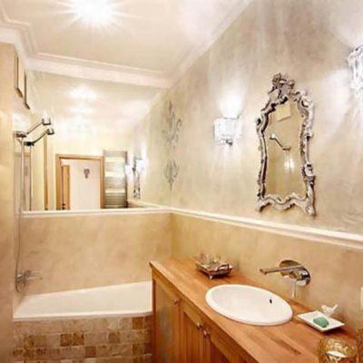 66Нежная маленькая ванная