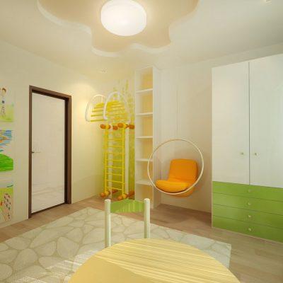 Сочные цвета в детской