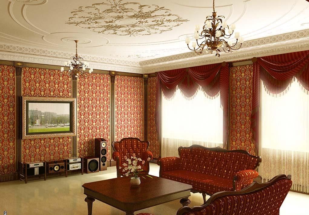 Старинная гостиная