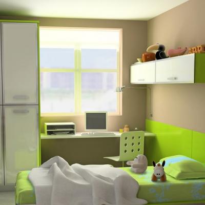 Зеленая детская